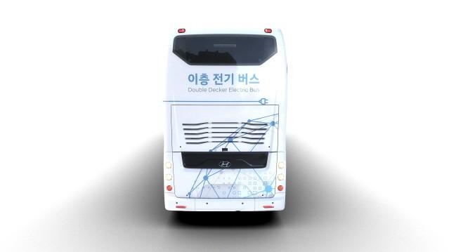 현대자동차, 70인승 이층 전기버스 첫 공개