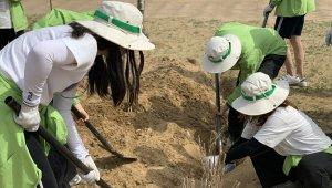 미래숲, '사회복지공동모금회가 지원하는 지구살리기 녹색봉사단' 통해 사막화 방지 활동 전개