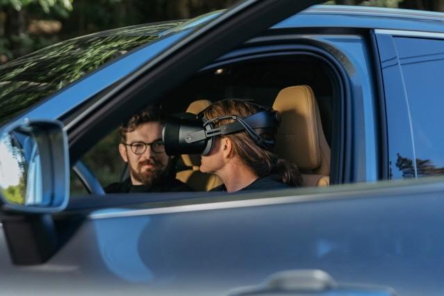 볼보자동차, 세계 최초로 혼합현실 기술 개발