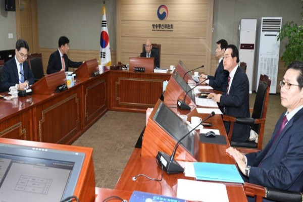 Korea Communications Commission's meeting