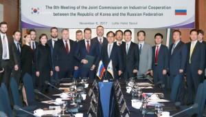 제9차 한·러 산업협력위원회 개최…산업협력 강화
