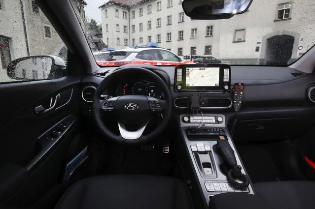 현대차 코나 일렉트릭, 스위스 생 갈렌 주 경찰차로 선정