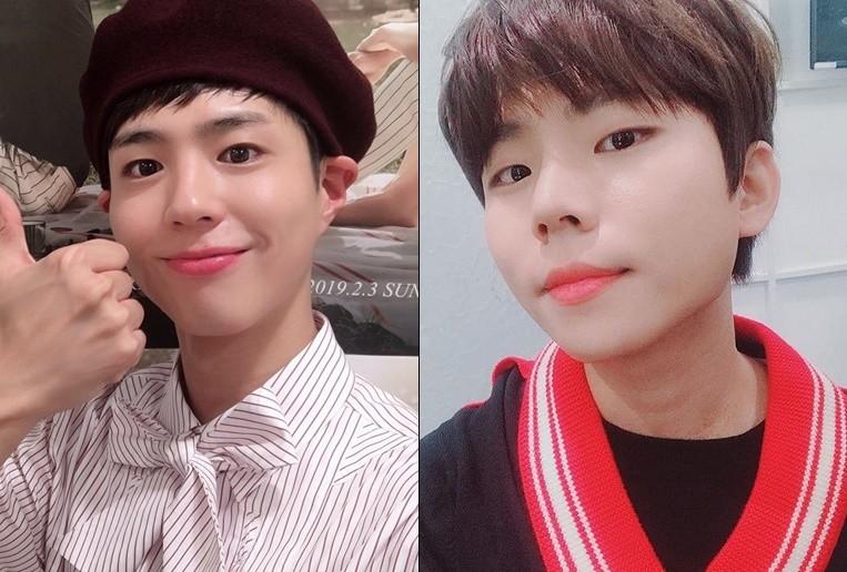 사진=박보검 트위터, 정승환 인스타그램