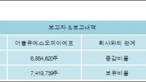 [ET투자뉴스][세원 지분 변동] 더블유에스오피이에프 외 3명 14.88%p 증가, 27.5% 보유