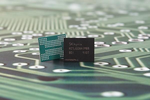 SK Hynix's 96-layer 4D NAND-based 1Tb QLC memory