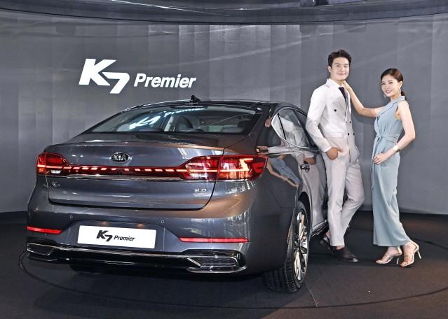 기아차, K7 프리미어 공개…디젤 포함 다섯 가지 라인업