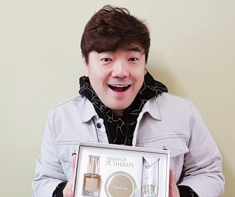 본에스티스, KBS 희극인실 김성규 회장과 MOU 맺고 '건강한 피부' 캠페인 진행