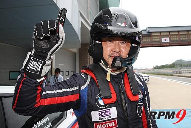CJ대한통운 슈퍼레이스 챔피언십 3전 BMW M 클래스 2위 , 정기용 선수 (사진 제공 : 슈퍼레이스)