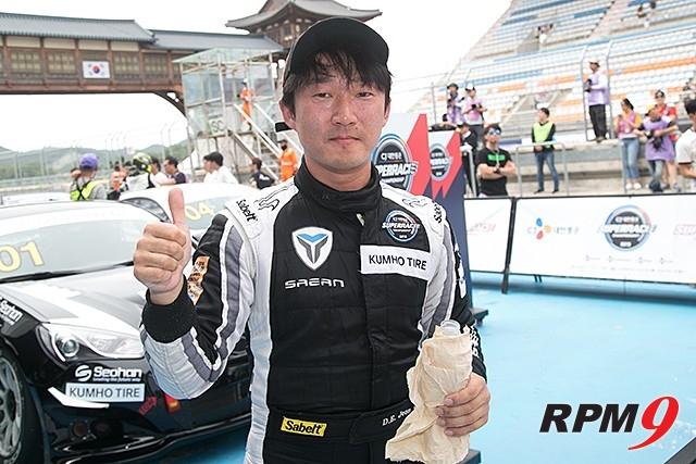 CJ대한통운 슈퍼레이스 챔피언십 3전 GT1 결승 3위, 전대은 선수 (사진 황재원 기자)