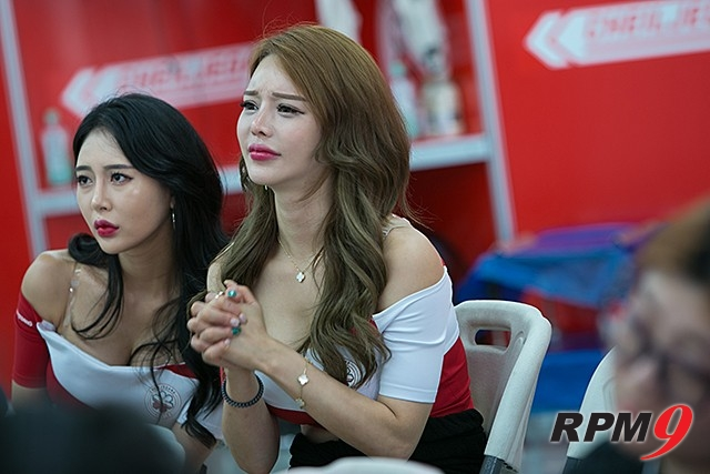 CJ대한통운 슈퍼레이스 챔피언십 3전 제일제당 레이싱 모델 김효진 (사진 황재원 기자)
