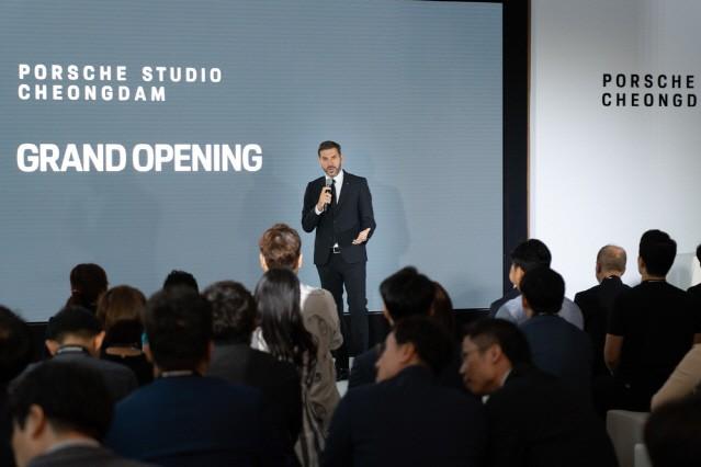 포르쉐, 전 세계 8번째 '포르쉐 스튜디오' 서울 청담동에 오픈