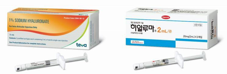 한미약품 골관절염 주사제 '히알루마', 미국서 출시