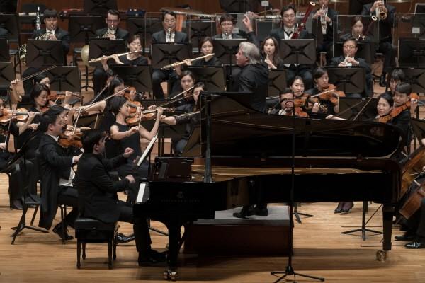 서울시향 2019 '차이콥스키 피아노 협주곡 1번' 공연사진. 사진=서울시립교향악단 제공