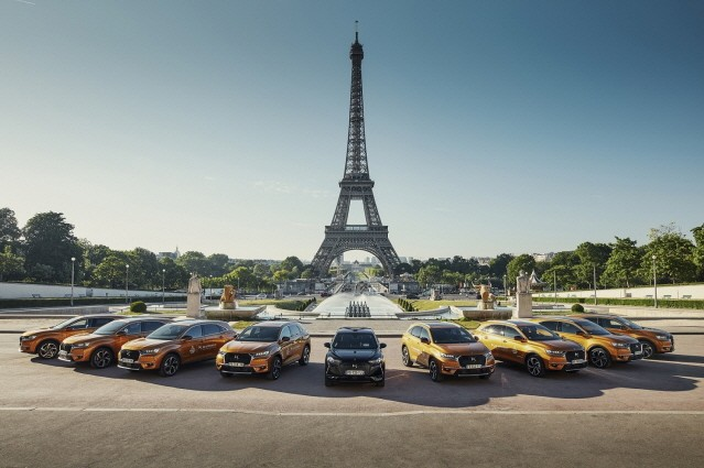 DS 오토모빌, '2019 파리 패션위크' 공식 협찬