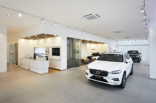 볼보자동차, 순천전시장· 서비스센터오픈