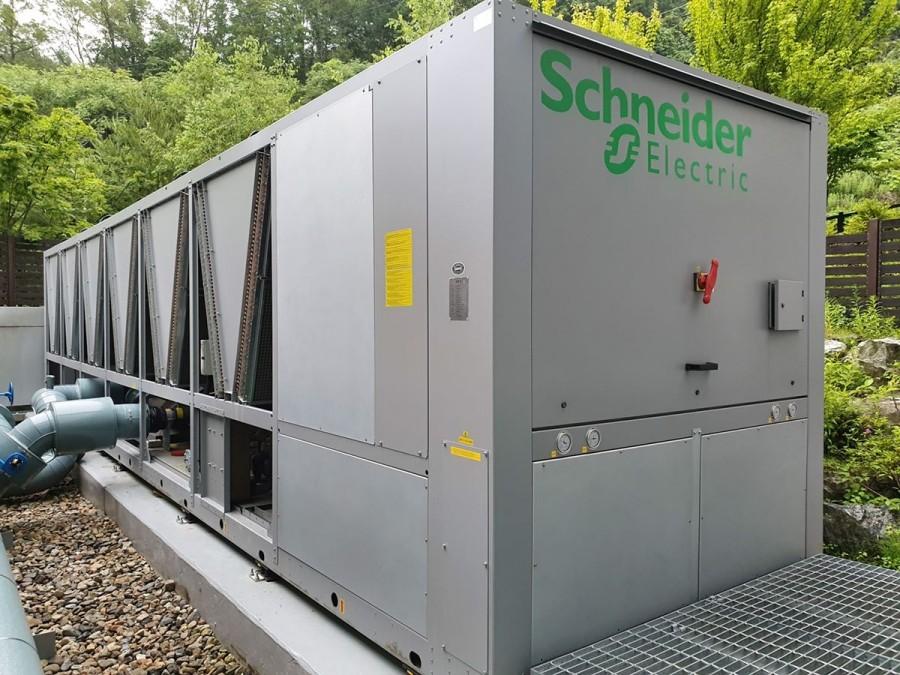 슈나이더일렉트릭이 더존IDC센터에 에너지 절감 솔루션을 구축했다. 사진제공=슈나이더일렉트릭