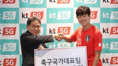 KT, U-20 월드컵 영웅 '이강인 선수' 후원