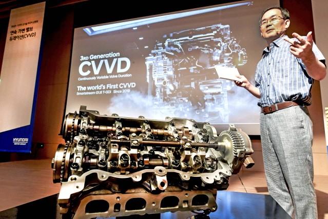 현대차, 'CVVD' 엔진 쏘나타 1.6 터보에 단다