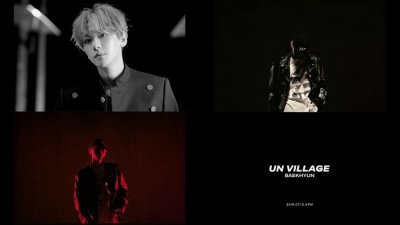 엑소 백현, 솔로 타이틀곡 'UN Village' 뮤비티저 공개…'로맨틱 백현감성' 간접묘사