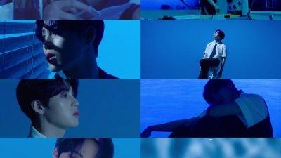 하성운, 새 타이틀곡 'BLUE' 뮤비티저 공개…서정적 분위기 속 '파워풀 보컬&안무' 눈길