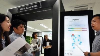 퓨리움, 초미세먼지 잡는 '스마트 IoT 에어샤워' 전시관 오픈… 맞춤형 대량양산 돌입