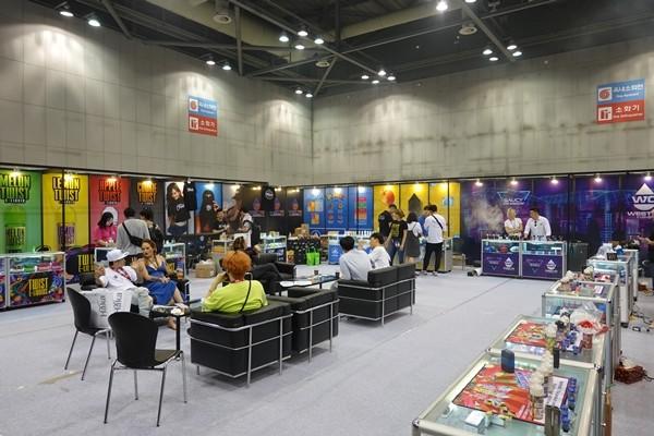 [VAPE KOREA EXPO 2019] 웨스트텐코리아, 미국 대표 전자담배 액상 브랜드 소개