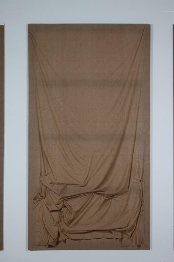 박장년 '마포 89-1, 240×130cm, 1989, 마포에 유채'. 사진=Gallery ANC 제공