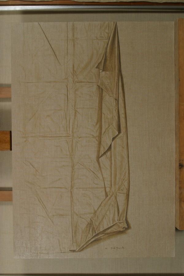 박장년 '마포 2001-1, 116.5×80.3cm, 2001, 마포에 유채'. 사진=Gallery ANC 제공