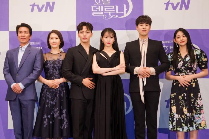 8일 서울 강남구 임페리얼팰리스 셀레나홀에서는 tvN 토일드라마 '호텔 델루나' 제작발표회가 열렸다. (사진=tvN 제공)