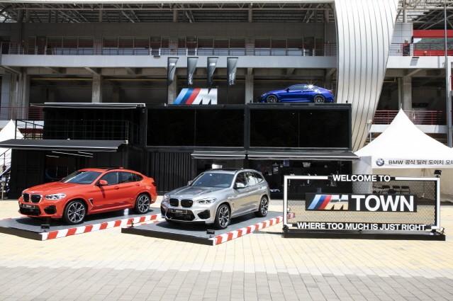 BMW 코리아, 인제스피디움서 뉴 X3 M·뉴 X4 M 국내 공개