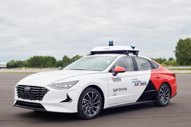 현대모비스-얀덱스, 공동 개발한 '자율주행 로보택시' 첫 공개