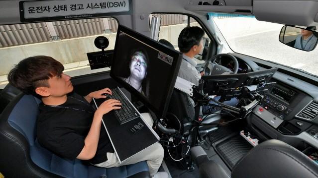 현대모비스, '운전자 시선 추적하는 부주의 경보장치' 개발