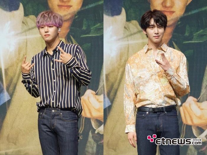 17일 서울 용산구 블루스퀘어 아이마켓홀에서는 펜타곤 미니9집 'SUM(ME:R)' 발매기념 쇼케이스가 열렸다.
