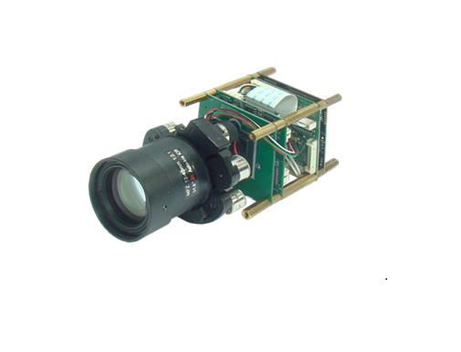 차량번호 인식용 글로벌셔터 IP 카메라 모듈 'FWC-A3T-GSB '.