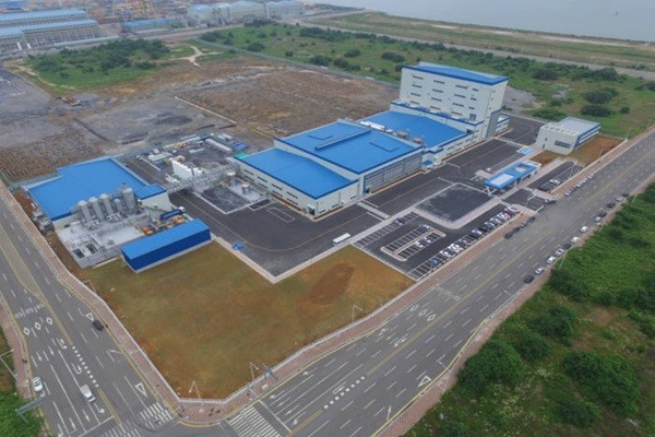 Panoramic view of POSCO Chemical's cathode material plant in Gwangyang (Picture = POSCO Chemical)