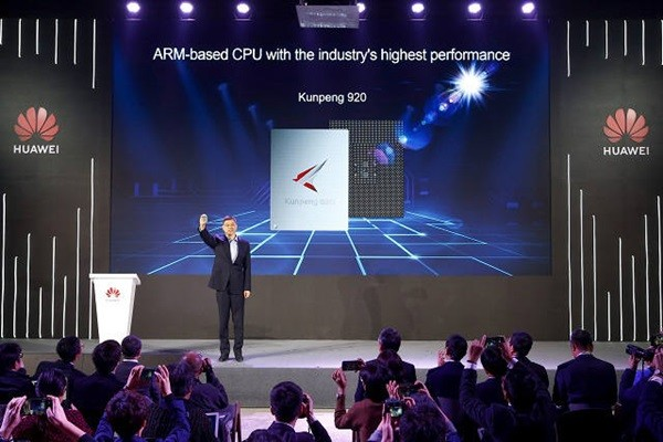 Announcement of Kunpeng 920 (Picture = Huawei)