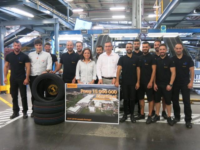 콘티넨탈, 콘티씰 타이어 1500만 개 생산 기록