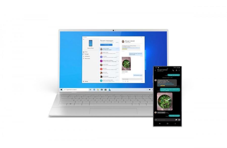 삼성전자와 마이크로소프트가 전략적 제휴를 맺고 갤럭시 10에 마이크로소프트의 SW가 탑재된다. 아미지제공=마이크로소프트