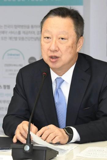 박용만 회장 사진- 전자신문DB
