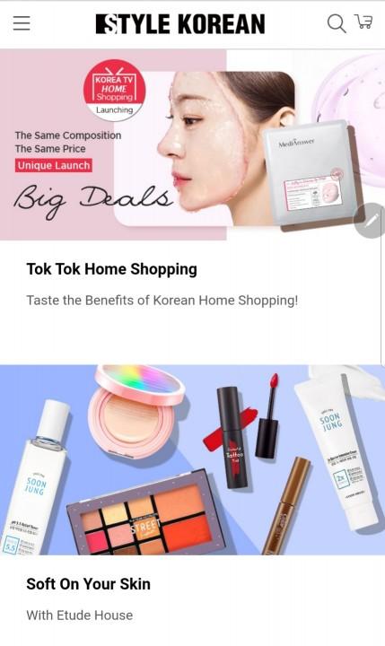 글로벌 K-beauty 플랫폼 Style korean