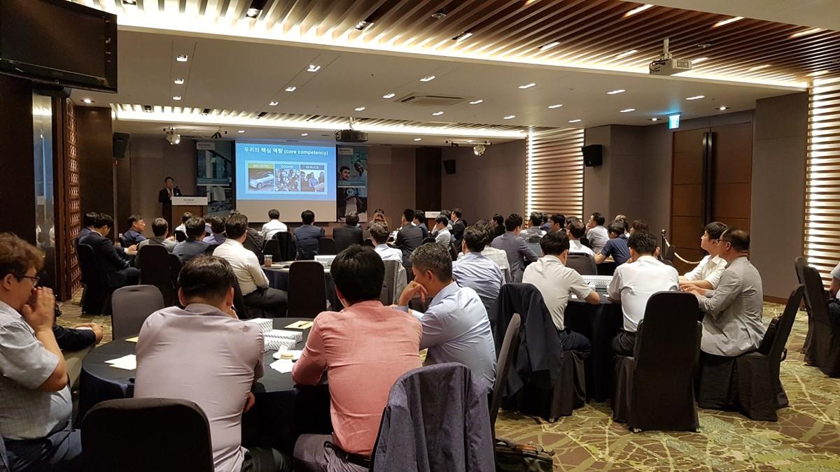 '2019 지멘스 디지털 인더스트리 소프트웨어 채널 파트너 컨퍼런스' 전경, 사진제공=지멘스 디디털 인더스트리 소프트웨어