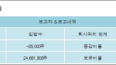 [ET투자뉴스][카카오 지분 변동] 김범수 외 8명 -0.11%p 감소, 29.31% 보유