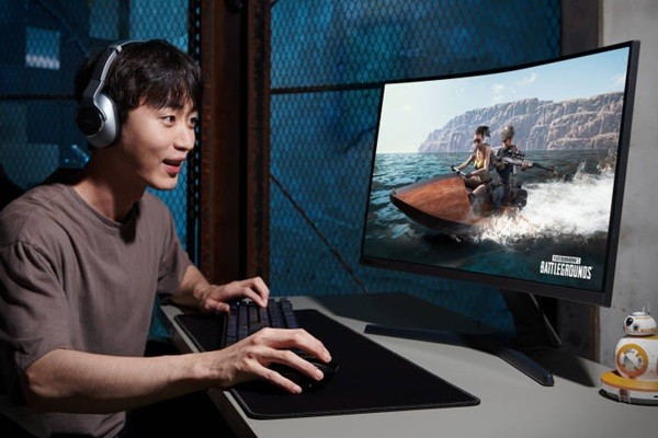 Samsung Electronics releases G-Sync-compatible curved gaming monitor CRG5 in South Korea