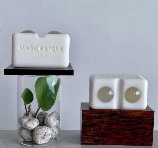 천연 아로마오일의 보습력과 세안, 마사지가 한 번에 가능한 매직브이스톤 제품