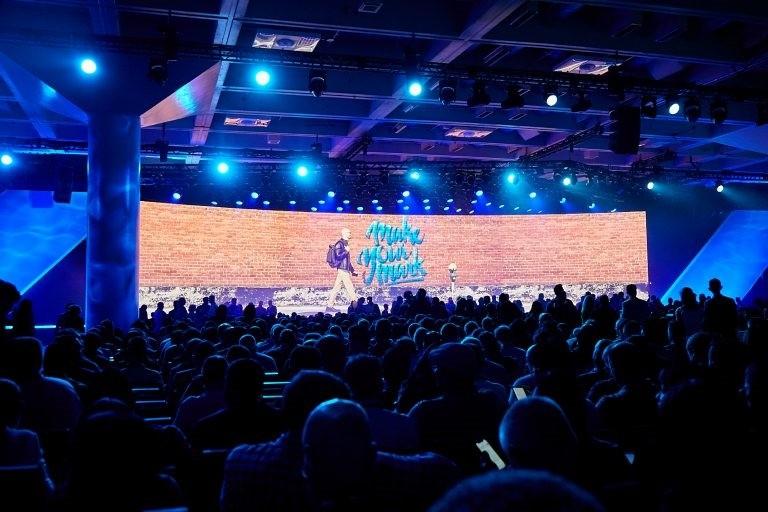 디지털 인프라 컨퍼런스 VMworld 2019 전경, 사진제공=VMWare