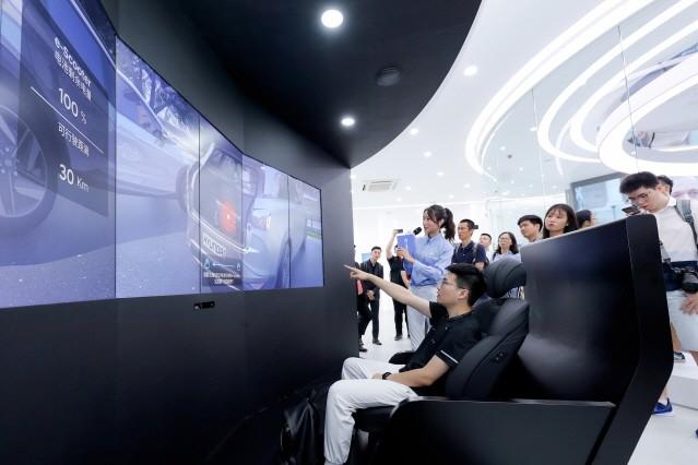 현대차그룹, 중국 상하이에 수소 비전관 개관