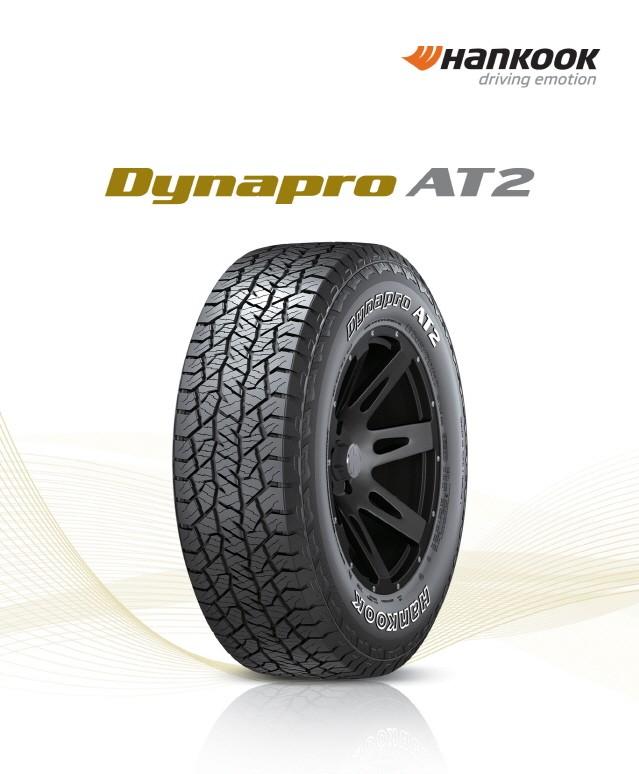 한국타이어, 온·오프로드 SUV용 타이어 '다이나프로 AT2' 출시