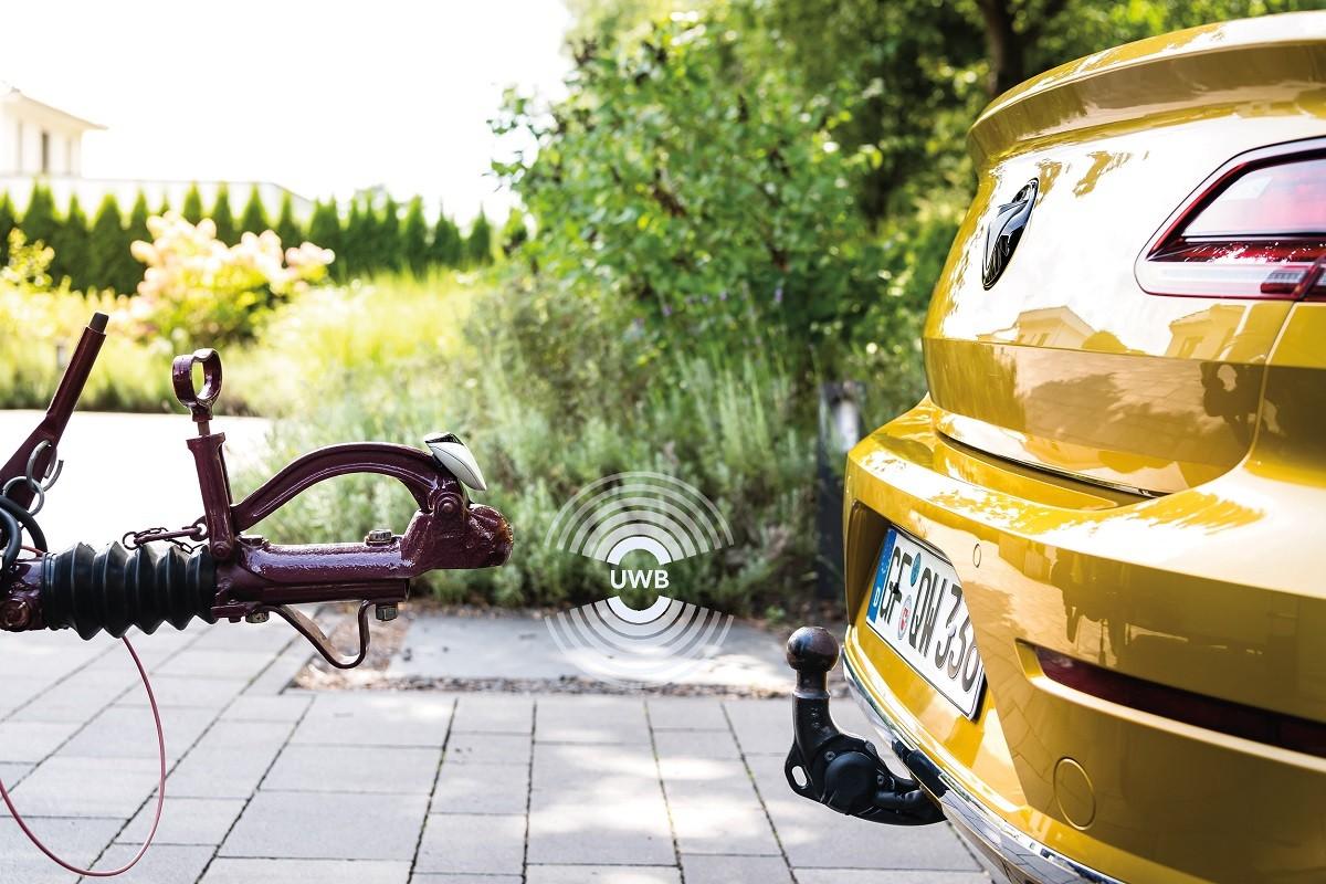 자동차와 트레일러가 매끄럽게 맞물려 쉽고, 편리하게 연결된다. 사진제공=NXP