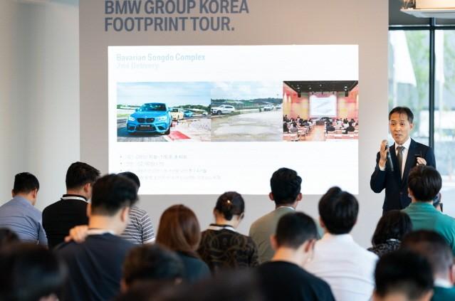 "BMW 한상윤 대표 ""유라시아 철도로 부품 공급할 것"""