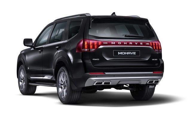 기아차, 대형 SUV '모하비 더 마스터' 출시